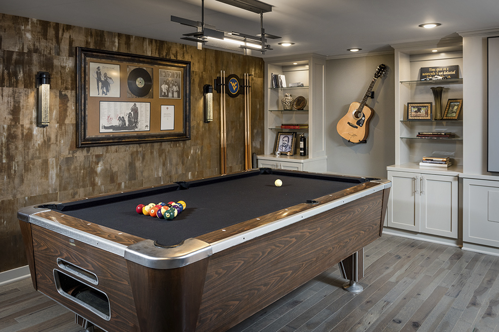 Modern Mancave Renovation